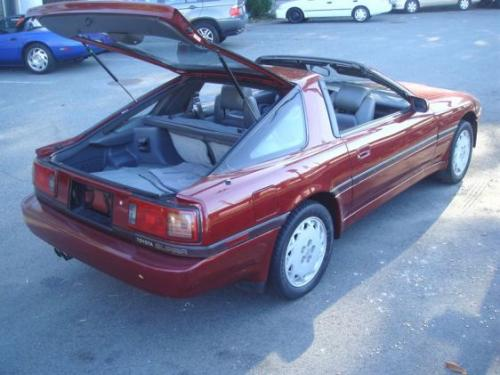 Photo Image Gallery & Touchup Paint: Toyota Supra in Red Pearl   (3H1)  YEARS: 1986-1988