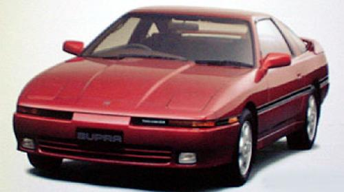 Photo Image Gallery & Touchup Paint: Toyota Supra in Medium Red Pearl  (3H4)  YEARS: 1989-1990