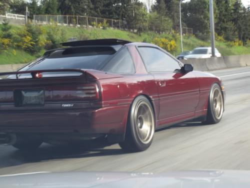 Photo Image Gallery & Touchup Paint: Toyota Supra in Burgundy Pearl   (3H8)  YEARS: 1991-1991