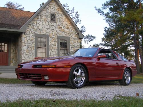 Photo Image Gallery & Touchup Paint: Toyota Supra in Garnet Pearl   (3K3)  YEARS: 1992-1992