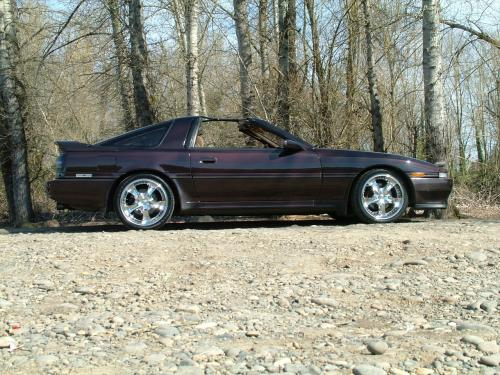 Photo Image Gallery & Touchup Paint: Toyota Supra in Mahogany Pearl   (4J7)  YEARS: 1989-1989