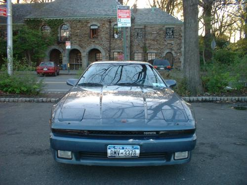 Photo Image Gallery & Touchup Paint: Toyota Supra in Medium Blue Metallic  (8D4)  YEARS: 1986-1986