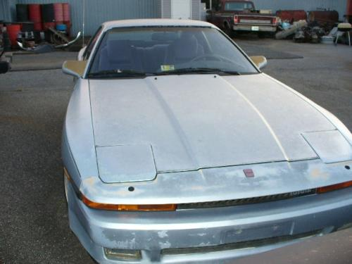 Photo Image Gallery & Touchup Paint: Toyota Supra in Light Blue Metallic  (8D8)  YEARS: 1986-1988