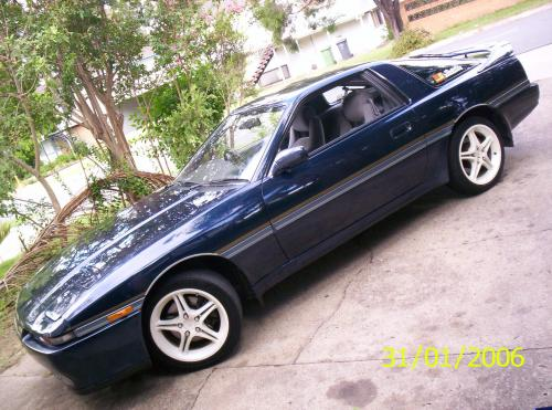Photo Image Gallery & Touchup Paint: Toyota Supra in Dark Blue Pearl  (8E3)  YEARS: 1987-1989