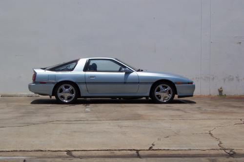 Photo Image Gallery & Touchup Paint: Toyota Supra in Ice Blue Pearl  (8G2)  YEARS: 1989-1990