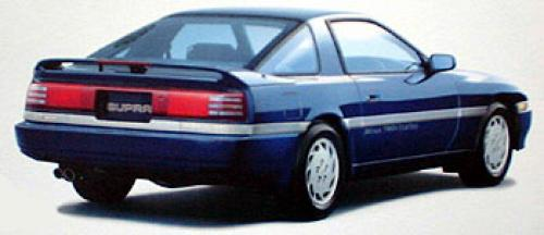 Photo Image Gallery & Touchup Paint: Toyota Supra in Dark Blue Pearl  (8G5)  YEARS: 1990-1990