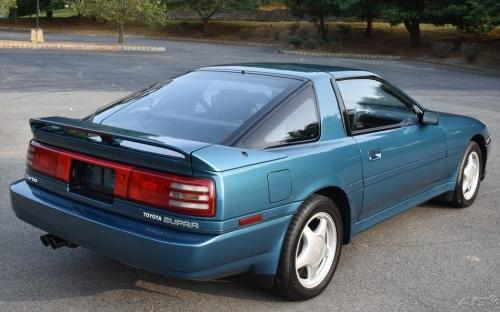 Photo Image Gallery & Touchup Paint: Toyota Supra in Blue Metallic   (8J3)  YEARS: 1991-1992
