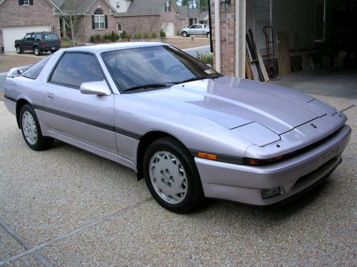 Photo Image Gallery & Touchup Paint: Toyota Supra in Amethyst Metallic   (920)  YEARS: 1986-1988