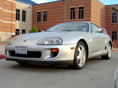 Photo Image Gallery & Touchup Paint: Toyota Supra in Alpine Silver Metallic  (199)  YEARS: 1993-1997