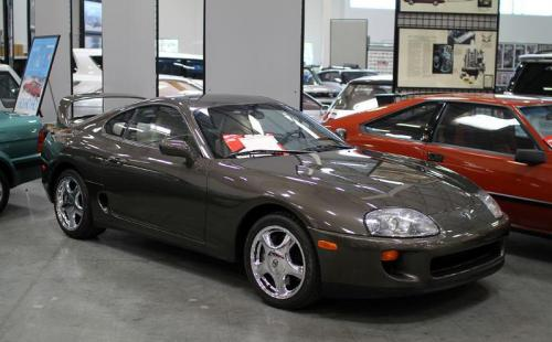 Photo Image Gallery & Touchup Paint: Toyota Supra in Anthracite Metallic   (1A1)  YEARS: 1993-1994