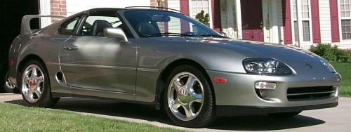 Photo Image Gallery & Touchup Paint: Toyota Supra in Quicksilver Fx   (1B9)  YEARS: 1998-1998