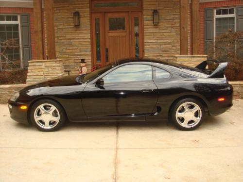 Photo Image Gallery & Touchup Paint: Toyota Supra in Black    (202)  YEARS: 1993-1998
