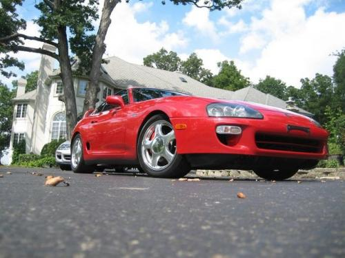 Photo Image Gallery & Touchup Paint: Toyota Supra in Renaissance Red   (3L2)  YEARS: 1993-1998