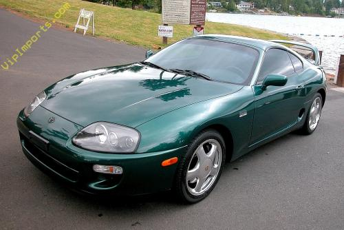 Photo Image Gallery: Toyota Supra in Deep Jewel Green Pearl (6P3)  YEARS: -