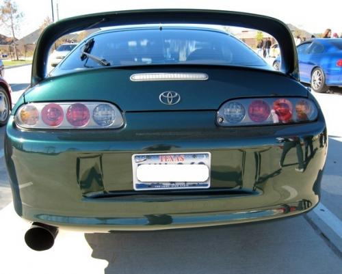 Photo Image Gallery & Touchup Paint: Toyota Supra in Imperial Jade Mica  (6Q7)  YEARS: 1998-1998
