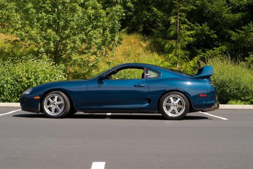 Photo Image Gallery & Touchup Paint: Toyota Supra in Baltic Blue Metallic  (752)  YEARS: 1993-1996