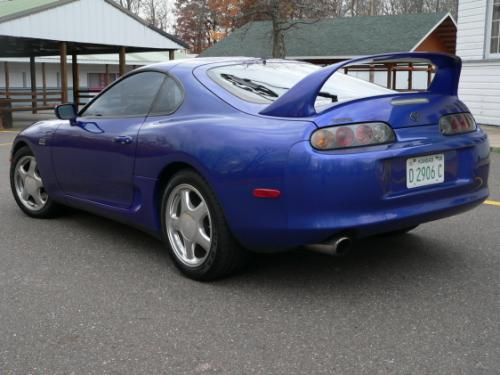 Photo Image Gallery & Touchup Paint: Toyota Supra in Royal Sapphire Pearl  (8L5)  YEARS: 1997-1998