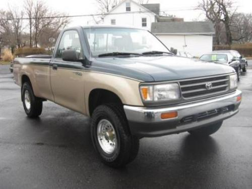 Photo Image Gallery & Touchup Paint: Toyota T100 in Evergreen Sierra Beige  (27U)  YEARS: 1993-1993