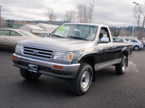 Photo Image Gallery & Touchup Paint: Toyota T100 in Pewter Black   (28X)  YEARS: 1994-1997