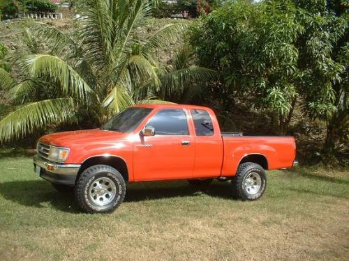 Photo Image Gallery & Touchup Paint: Toyota T100 in Cardinal Red   (3H7)  YEARS: 1993-1997