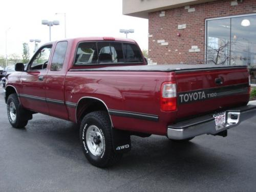 Photo Image Gallery & Touchup Paint: Toyota T100 in Sunfire Red Pearl  (3K4)  YEARS: 1996-1998