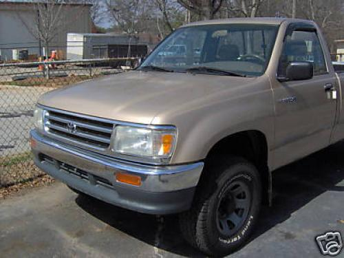 Photo Image Gallery & Touchup Paint: Toyota T100 in Sierra Beige Metallic  (4M4)  YEARS: 1993-1994