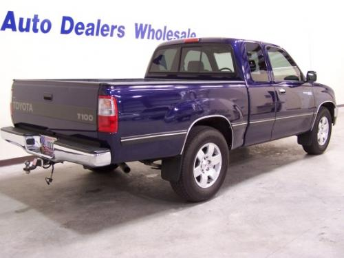 Photo Image Gallery & Touchup Paint: Toyota T100 in Stellar Blue Pearl  (8L7)  YEARS: 1998-1998