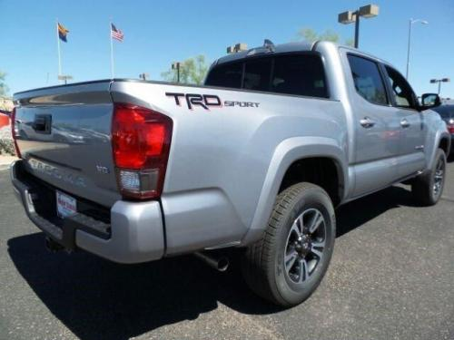 Photo Image Gallery & Touchup Paint: Toyota Tacoma in Silver Sky Metallic  (1D6)  YEARS: 2016-2017