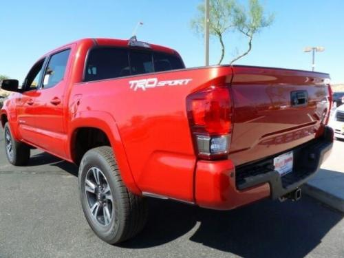 Photo Image Gallery & Touchup Paint: Toyota Tacoma in Barcelona Red Metallic  (3R3)  YEARS: 2017-2017