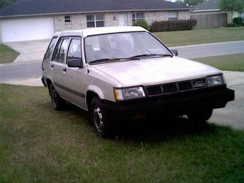 Photo Image Gallery & Touchup Paint: Toyota Tercel in Silver Metallic   (164)  YEARS: 1987-1988