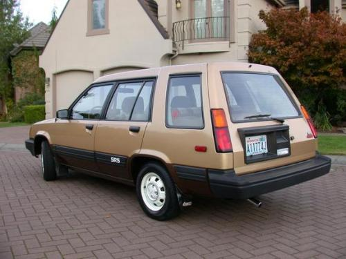 Photo Image Gallery & Touchup Paint: Toyota Tercel in Gold Dkbrown   (2J5)  YEARS: 1983-1983