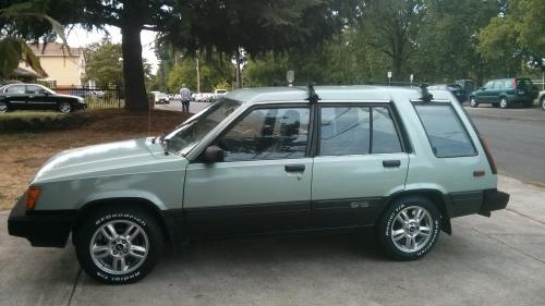 Photo Image Gallery & Touchup Paint: Toyota Tercel in Ltgreen Dkgreen   (2T4)  YEARS: 1985-1985