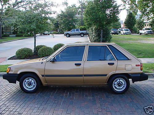 Photo Image Gallery & Touchup Paint: Toyota Tercel in Gold Metallic   (4C3)  YEARS: 1983-1983