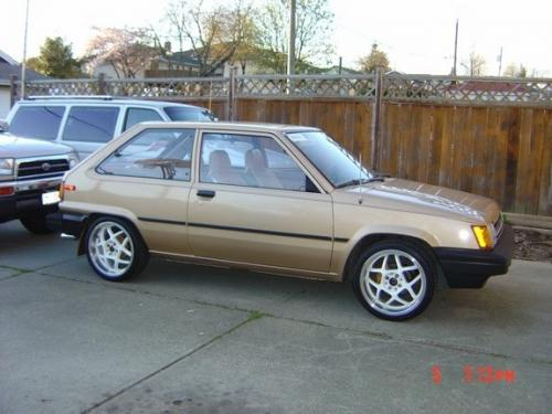 Photo Image Gallery & Touchup Paint: Toyota Tercel in Light Topaz Metallic  (4E1)  YEARS: 1984-1986