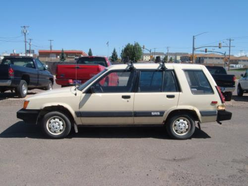 Photo Image Gallery & Touchup Paint: Toyota Tercel in Creme    (557)  YEARS: 1983-1984