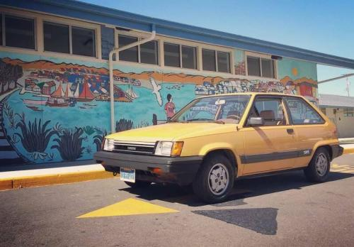 Photo Image Gallery & Touchup Paint: Toyota Tercel in Light Yellow   (558)  YEARS: 1983-1983