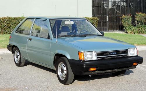 Photo Image Gallery & Touchup Paint: Toyota Tercel in Light Jade Metallic  (6J4)  YEARS: 1986-1986