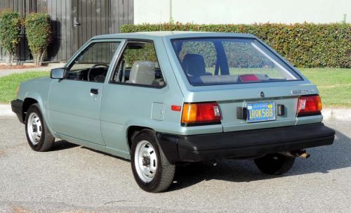 Photo Image Gallery & Touchup Paint: Toyota Tercel in Light Jade Metallic  (6J4)  YEARS: 1986-1986
