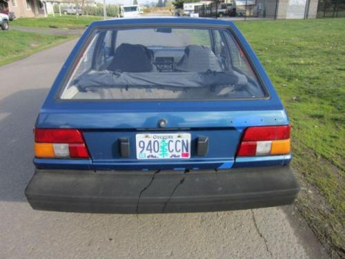 Photo Image Gallery & Touchup Paint: Toyota Tercel in Blue Metallic   (884)  YEARS: 1984-1986