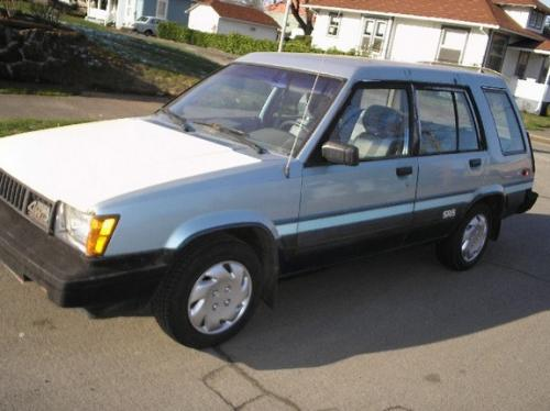 Photo Image Gallery & Touchup Paint: Toyota Tercel in Light Blue Metallic  (889)  YEARS: 1983-1983
