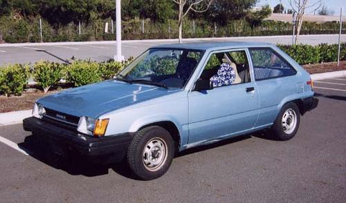 Photo Image Gallery & Touchup Paint: Toyota Tercel in Light Blue Metallic  (8A8)  YEARS: 1984-1985