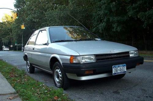Photo Image Gallery & Touchup Paint: Toyota Tercel in Silver Metallic   (164)  YEARS: 1987-1990
