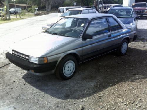 Photo Image Gallery & Touchup Paint: Toyota Tercel in Gray Metallic   (165)  YEARS: 1990-1990