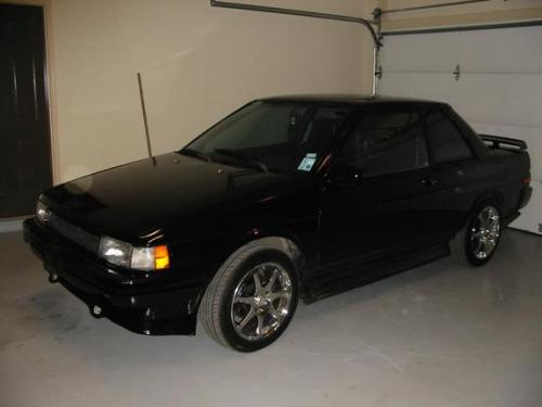 Photo Image Gallery & Touchup Paint: Toyota Tercel in Satin Black Metallic  (205)  YEARS: 1989-1990