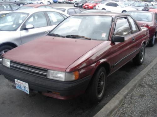 Photo Image Gallery & Touchup Paint: Toyota Tercel in Wine Metallic   (3G9)  YEARS: 1987-1988