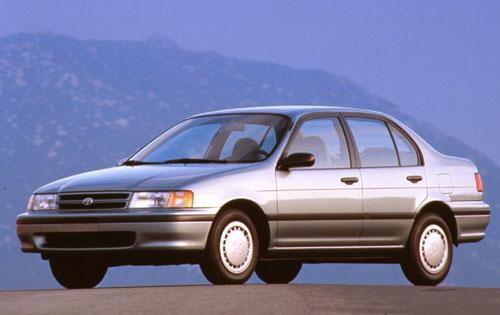 Photo Image Gallery & Touchup Paint: Toyota Tercel in Silvermist Metallic   (176)  YEARS: 1991-1994