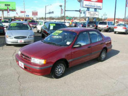 Photo Image Gallery & Touchup Paint: Toyota Tercel in Sunfire Red Pearl  (3K4)  YEARS: 1993-1994
