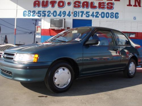 Photo Image Gallery & Touchup Paint: Toyota Tercel in Teal Mist Metallic  (6N1)  YEARS: 1993-1994