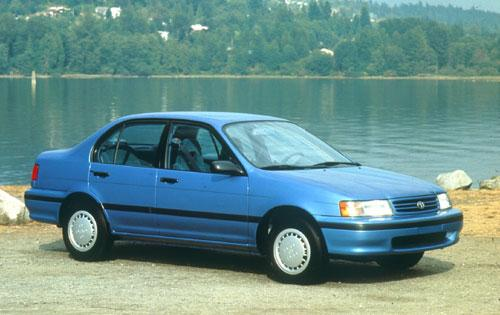 Photo Image Gallery & Touchup Paint: Toyota Tercel in Blue Metallic   (8J2)  YEARS: 1991-1994