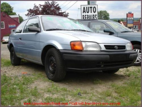 Photo Image Gallery & Touchup Paint: Toyota Tercel in Platinum Metallic   (1A0)  YEARS: 1995-1997